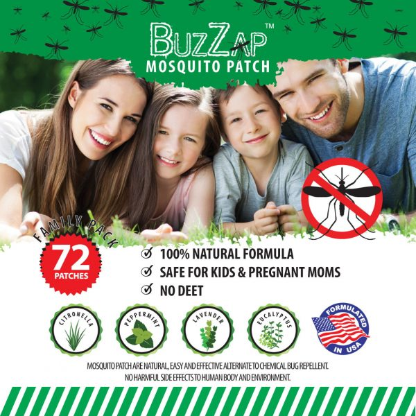 Mosquito Patch promotional photo