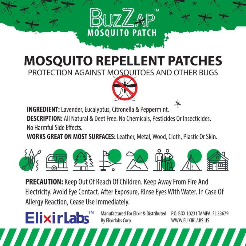 BuzZap mosquito patch
