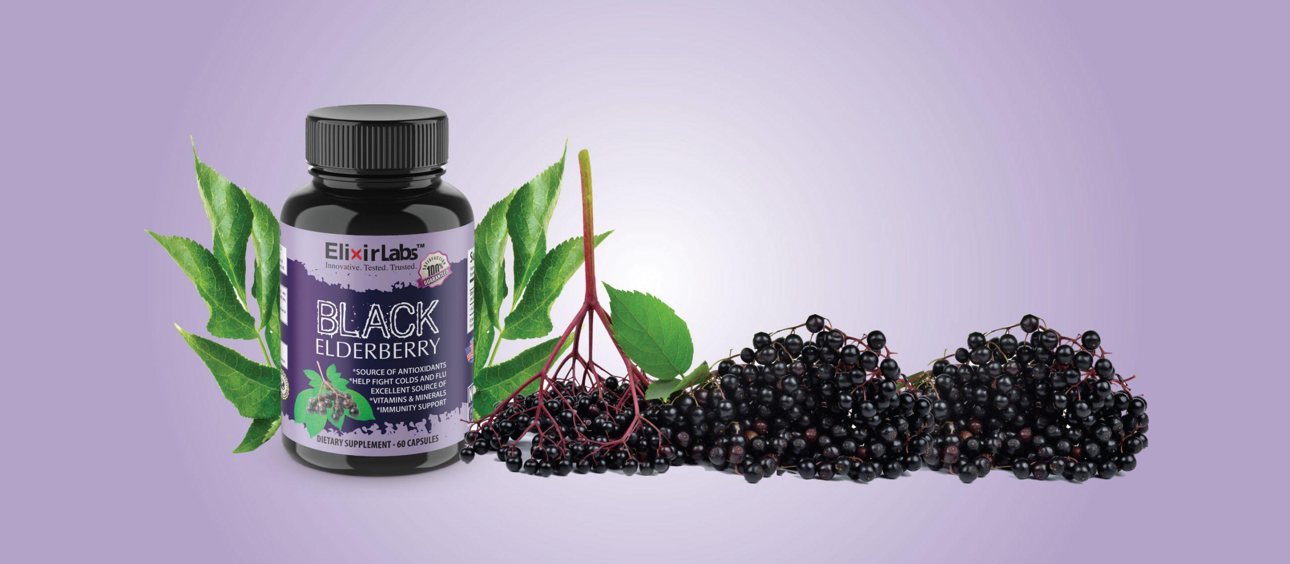 Black Elderberry for a Strong Immune System