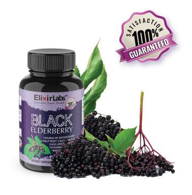 Elixir Labs supplements Black Elderberry